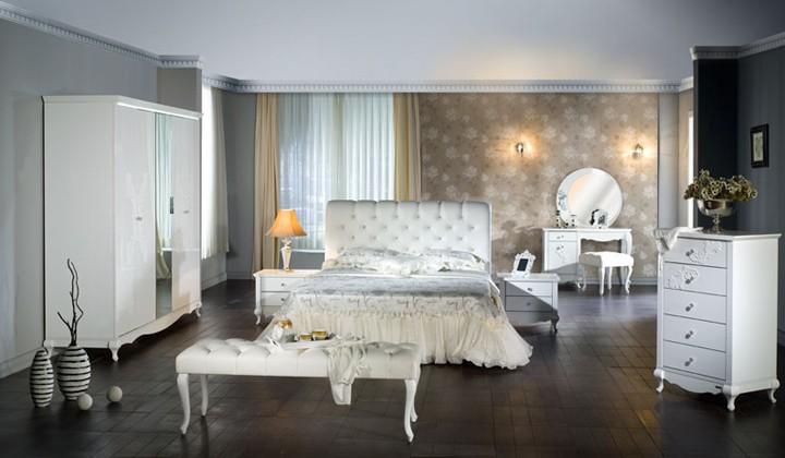 bellona beyaz yatak odasi ornekleri Yeni Sezon Marka Yatak Odası Modelleri 22