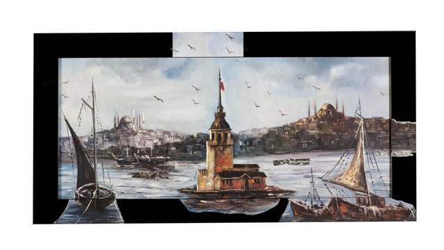 istanbul manzarali tablo ornekleri En güzel Farklı Tablo Modelleri 14