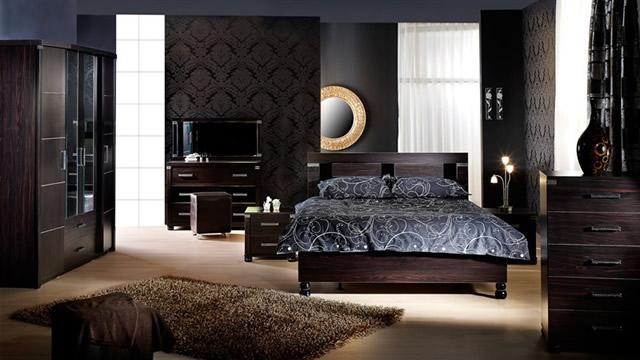 kahverengi yatak odasi ornekleri Yeni Sezon Marka Yatak Odası Modelleri 10