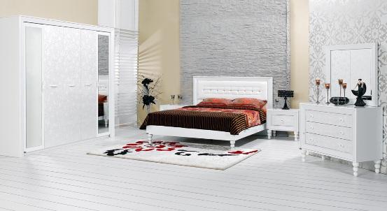 merinos beyaz yatak odasi modelleri Yeni Sezon Marka Yatak Odası Modelleri 11