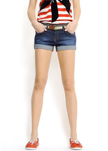 en guzel yazlik bayan sort modelleri Mini Yazlık Bayan Şort Modelleri 4