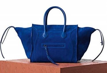 gece mavisi suet canta ornegi Yeni Trend Farklı Çantalar 14