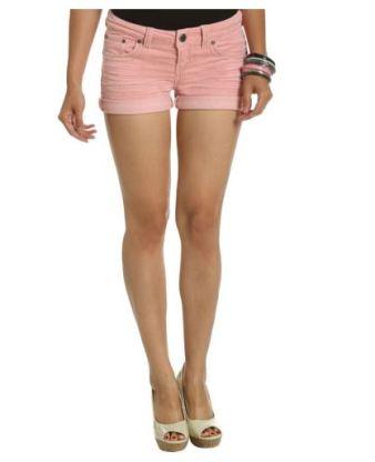 pembe kot mini sort modelleri Mini Yazlık Bayan Şort Modelleri 21