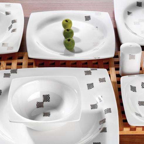 schafer kare yemek takimi ornekleri Schafer Yemek Takımı Modelleri 26