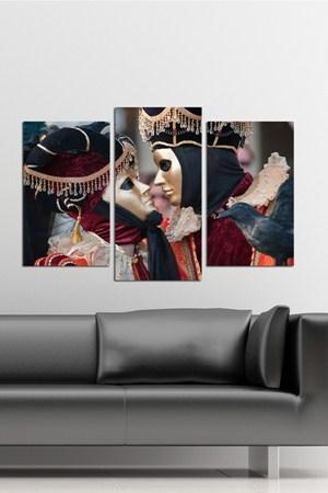 3 parcali en sik tablo ornekleri 3 Parçalı Ahşap Tablo Modelleri 2