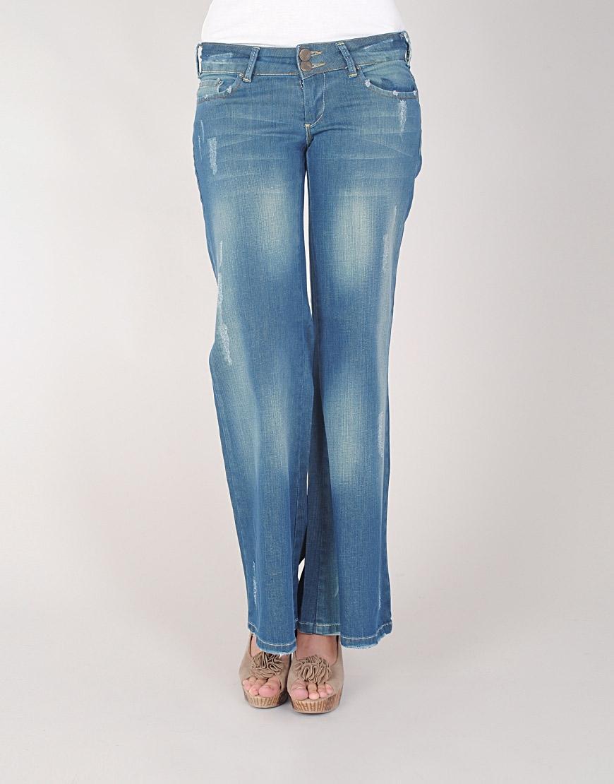 bol paca kot pantolon ornekleri Yeni Trend Farklı Bayan Pantolonları 6