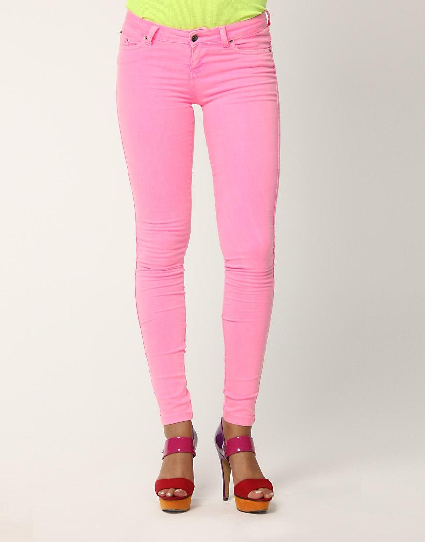 eker pembesi keten dar paca pantolonlar Yeni Trend Farklı Bayan Pantolonları 17