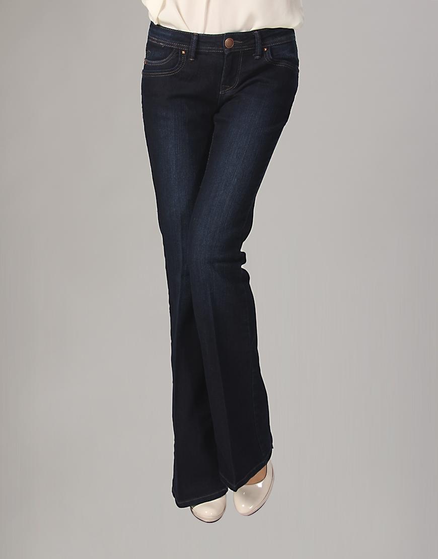 ispanyol paca lacivert kot pantolon modelleri Yeni Trend Farklı Bayan Pantolonları 9