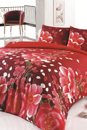 kirmizi modern uyku seti ornekleri En Güzel Tek Kişilik Uyku Seti Örnekleri 8