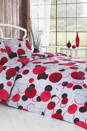 kirmizi siyah puantiyeli tek kisilik uyku setleri ornekleri En Güzel Tek Kişilik Uyku Seti Örnekleri 9