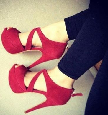 suet yuksek platform topuklu ayakkabilar Yeni Trend Farklı Yüksek Topuklu Ayakkabı Trendleri 27