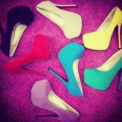 yeni trend platform topuklu ayakkabi cesitleri Yeni Trend Farklı Yüksek Topuklu Ayakkabı Trendleri 2