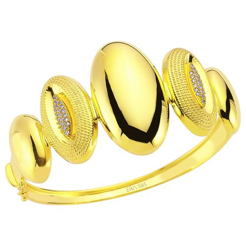 ok guzel altinbas 14 ayar bilezik cesitleri Altınbaş Altın Bilezik Modelleri 8
