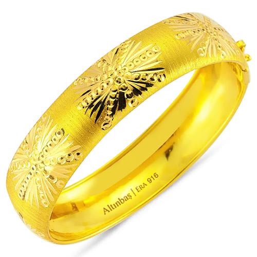 sari altin bilezik modelleri Altınbaş Altın Bilezik Modelleri 24