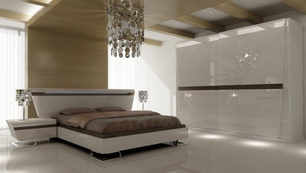 bellona beyaz lake yatak odasi takimi Yeni Sezon Lüx Yatak Odası Takımı Modelleri 4