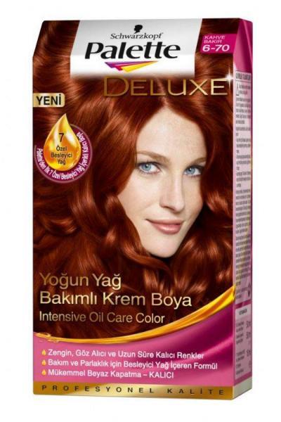 Palette Yoğun Bakır Saç Boyası