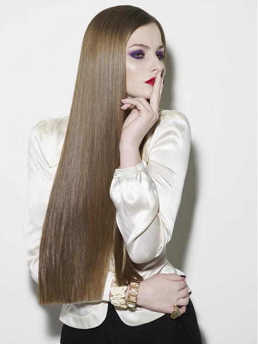 Uzun ve Katli Sac Modelleri Uzun Saç Modelleri 16