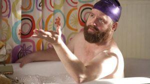 duş boneli erkek