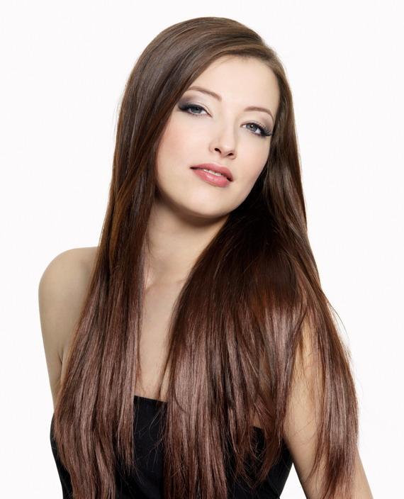 uzun duz sac Uzun Saç Modelleri 1