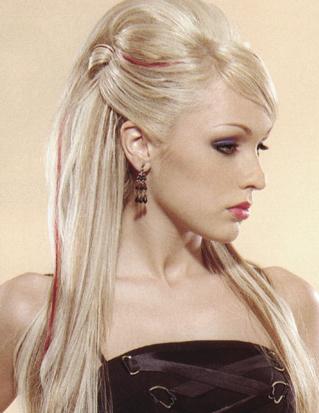 uzun sac tasarimi Uzun Saç Modelleri 13