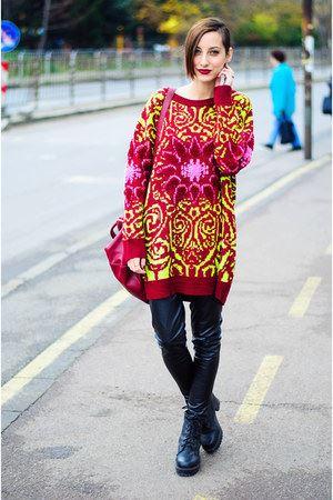 sokak modasi bol kazaklar Yeni Sezon Sokak Modası 17
