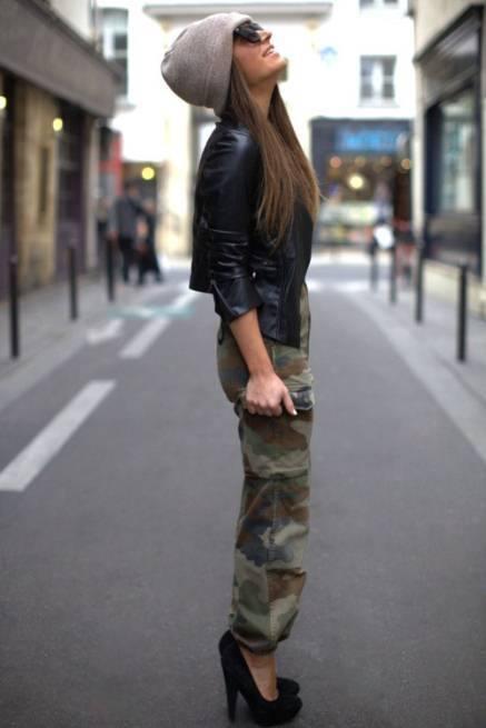 sokak modasi deri Yeni Sezon Sokak Modası 14
