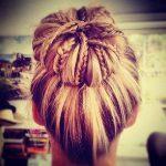 topuz saç modası
