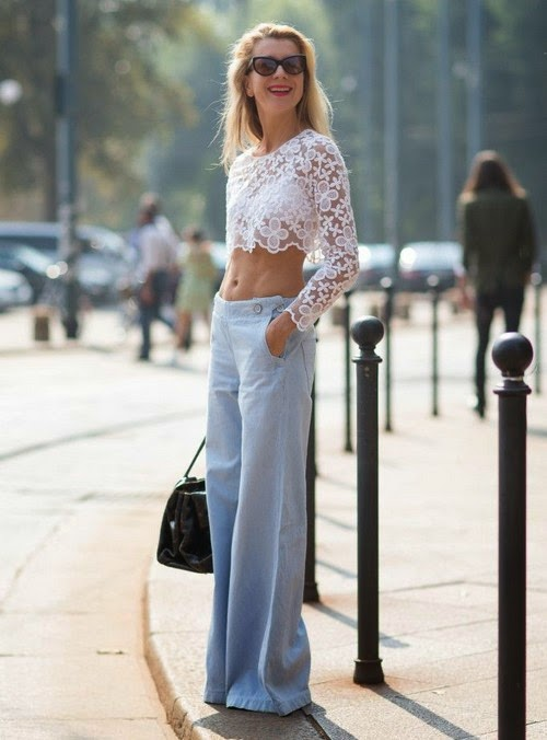 natalie joos crop-top pantolon