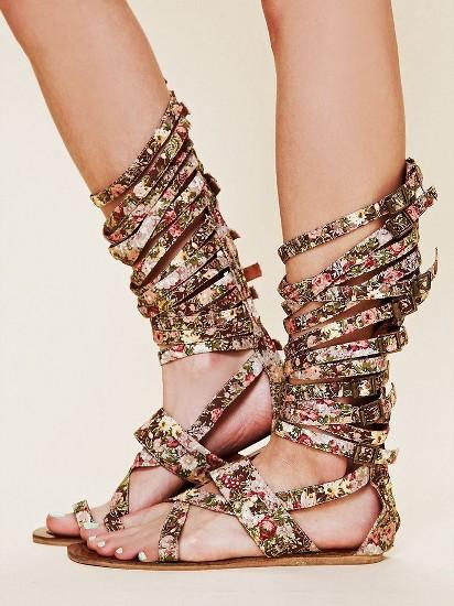 en moda sandalet modelleri1 Yaz Sezonu Sandalet Modelleri 14