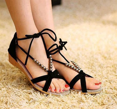 yazlik sandalet modelleri1 Yaz Sezonu Sandalet Modelleri 6