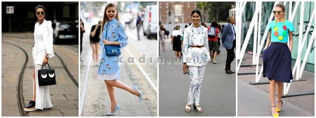 2014-2015 Milano Moda Haftası Sokak Stili