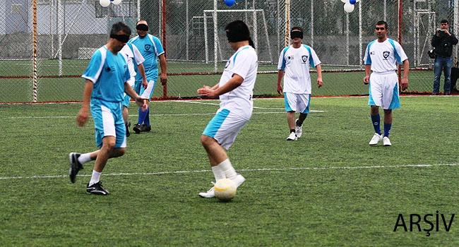 Görme Engelliler Futbolu Zilli Top