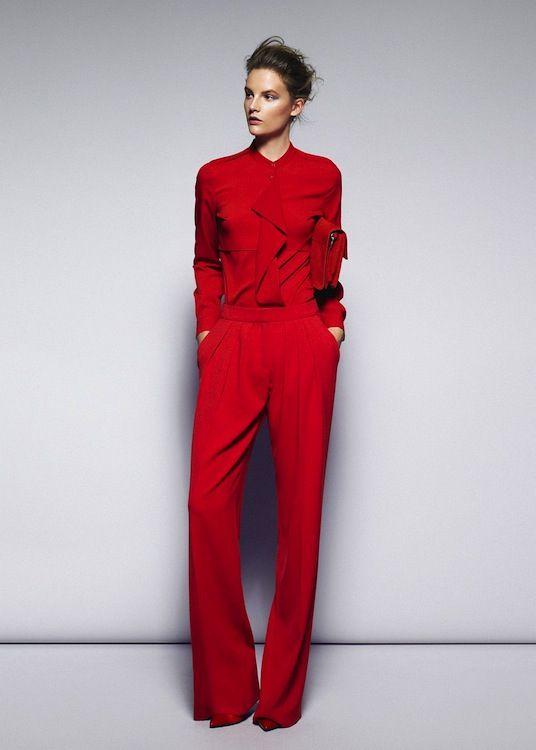Kirmizi bayan tulum modeli Yılbaşı Ve Kırmızı! 12