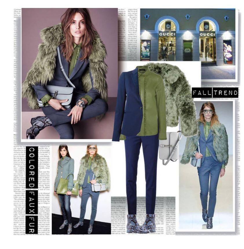 Lacivert ceket kombin ornegi Çok Şık Kışlık Kombinler 21
