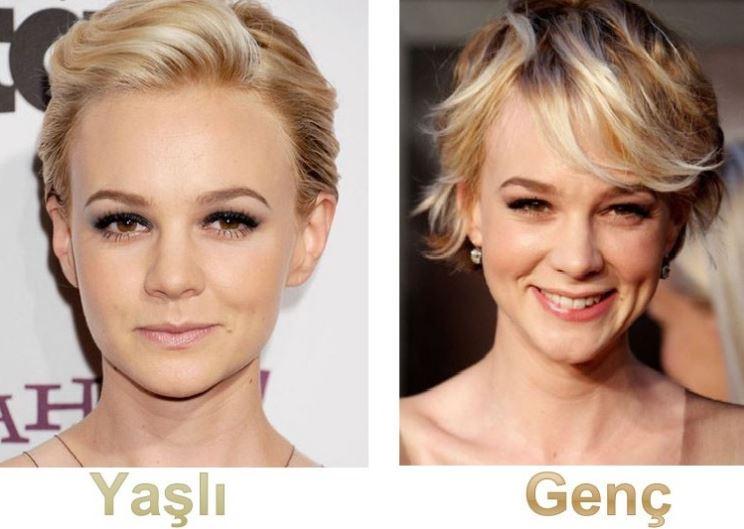 Çok Daha Yaş Genç Gösterecek Saç Tüyoları