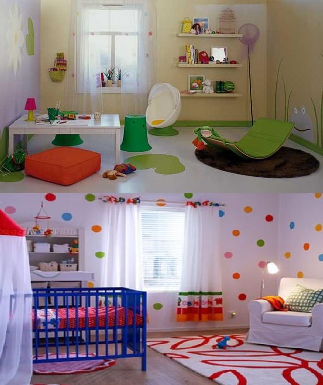 2181 Mondi Bebek Odaları Modelleri 1