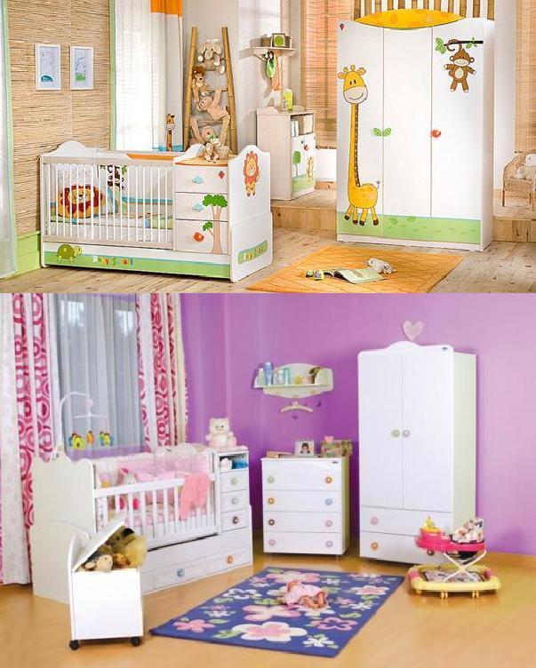 2182 Mondi Bebek Odaları Modelleri 2