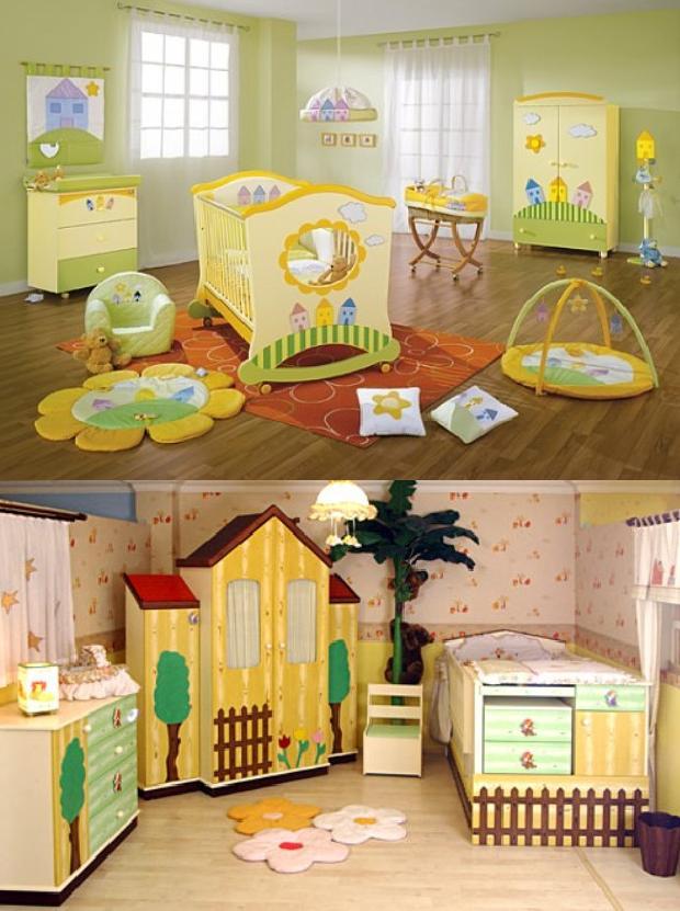 2186 Mondi Bebek Odaları Modelleri 6