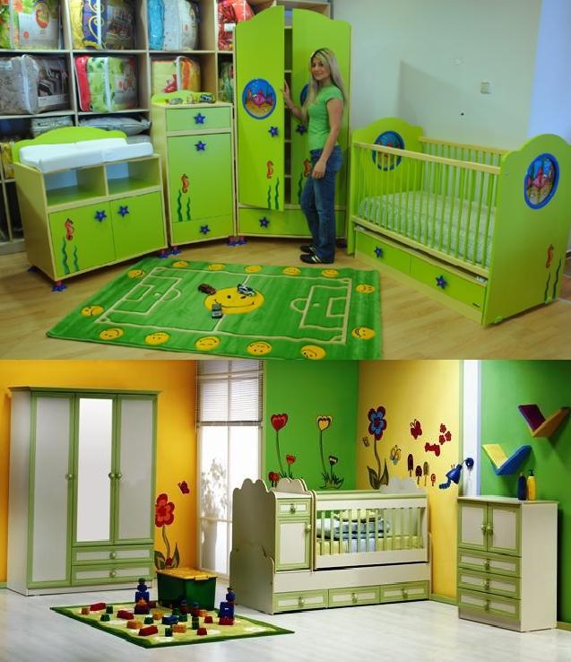 2187 Mondi Bebek Odaları Modelleri 7