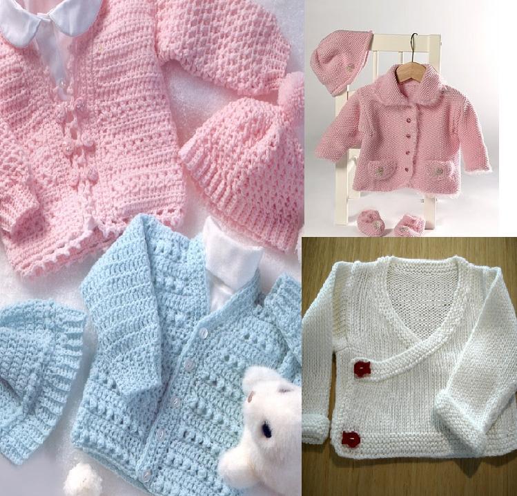 919 Kız Bebek Kışlık Örgü Modelleri 7