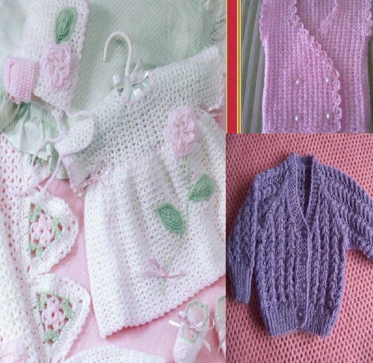 920 Kız Bebek Kışlık Örgü Modelleri 3