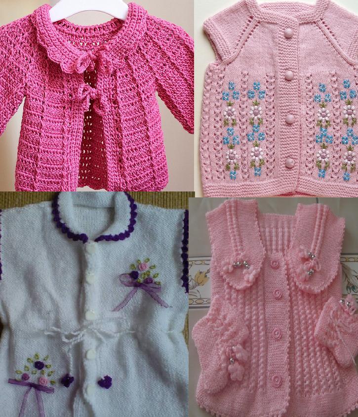 921 Kız Bebek Kışlık Örgü Modelleri 1