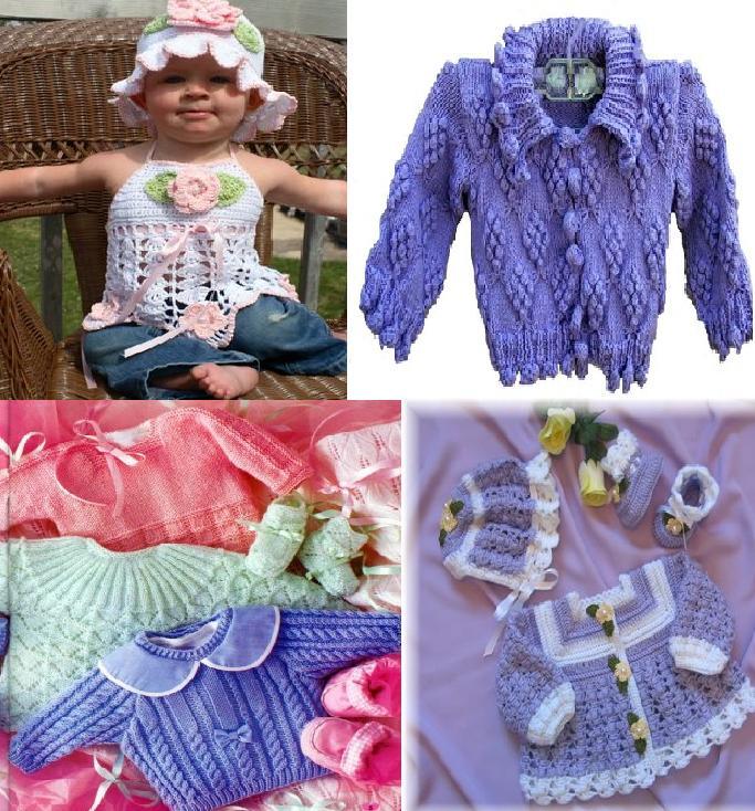 922 Kız Bebek Kışlık Örgü Modelleri 4