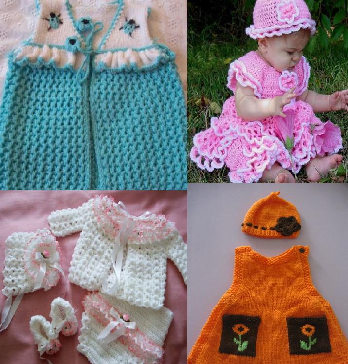 923 Kız Bebek Kışlık Örgü Modelleri 5