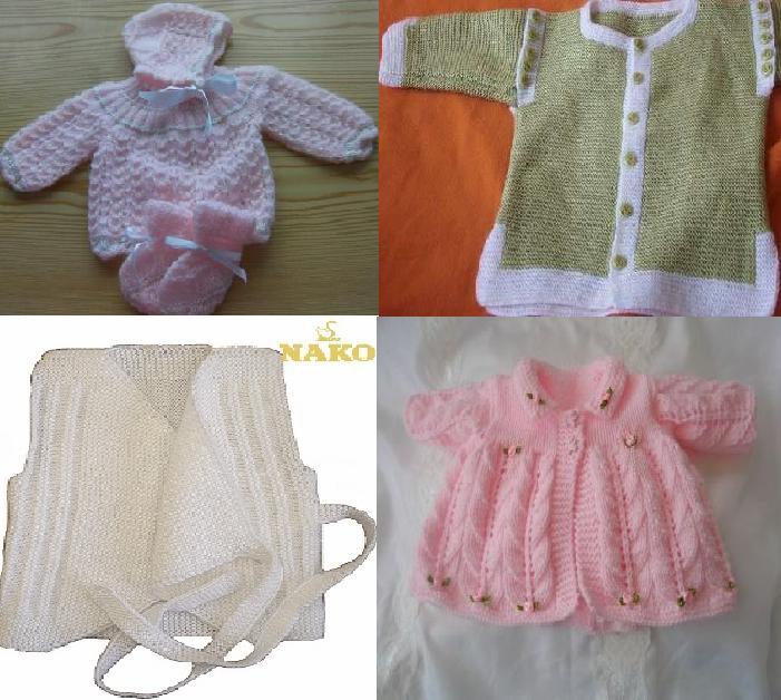 924 Kız Bebek Kışlık Örgü Modelleri 2