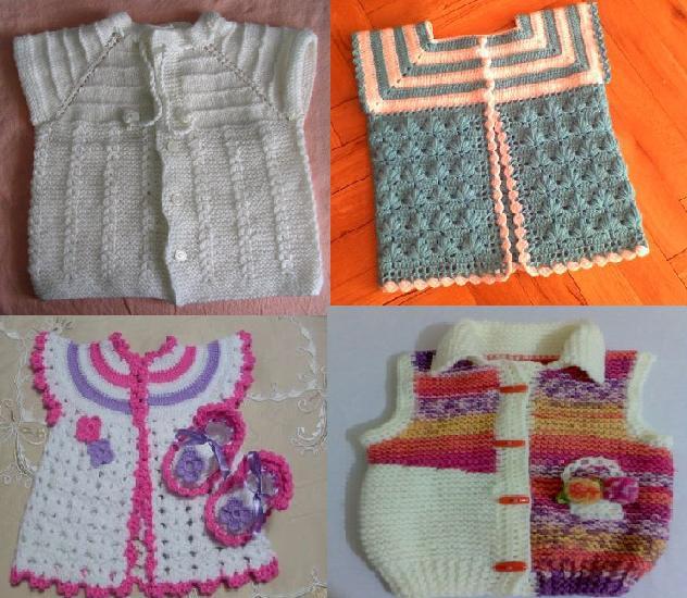 925 Kız Bebek Kışlık Örgü Modelleri 6