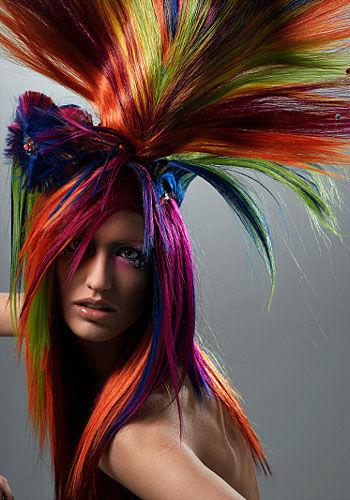 saç bakımı, saç boyama