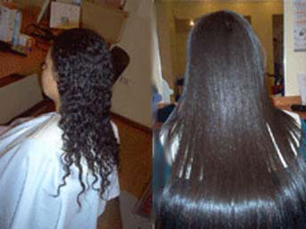 kıvırcık saç düzleştirme yöntemleri