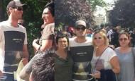 Kıvanç Tatlıtuğ yine Gezi Parkı'nda