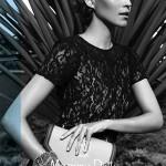 Massimo Dutti dantel bluz ve çanta modelleri